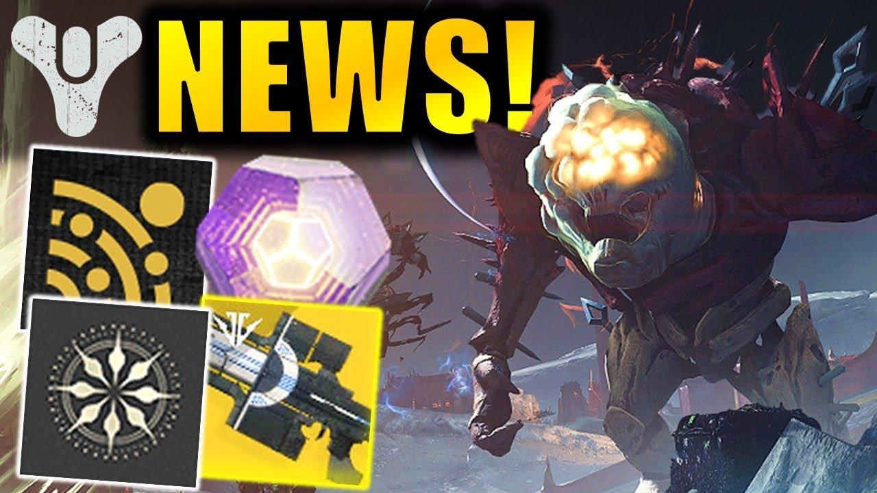 HUGE Endgame Change! - Exotic Quest FIXED! - Exclusive Rewards! | Destiny 2 News thumbnail