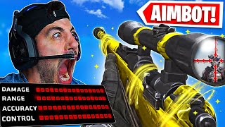 The AIMBOT Sniper Class in Warzone! 🤯