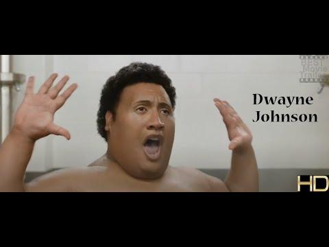 Download Fat Dwayne Johnson | dancing in the shower | Central Intelligence | HD @Best Movie Trailer