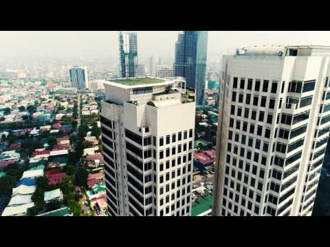 Makati, Manila - Philippines - 4K Drone Video!