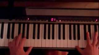 US Blues By The Dead - Piano lesson Part 1
