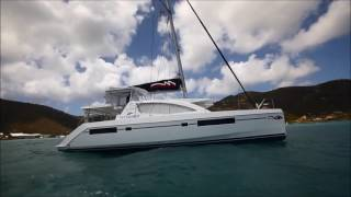 Yachting World Magazine -- Catamaran Sailing Techniques FULL -- Leopard 48 (Moorings 4800)