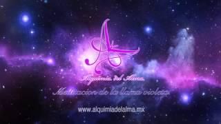 MEDITACIÓN GLOBAL: TRANSMUTANDO CON LA LLAMA VIOLETA www.alquimiadelalma.mx