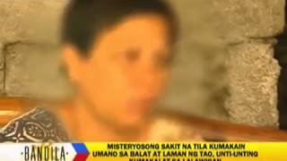 Mysterious illness in Pangasinan Philippines