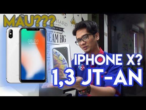CUMA 1,3 JT-AN?? IPHONE X? - REVIEW & UNBOXING HOTWAV SYMBOL X