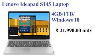 Lenovo Ideapad S145 AMD A6 9225(4GB RAM, 1TB HDD) reviews | Budget laptops