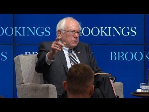 An Economic Agenda for America: A Conversation with Bernie Sanders