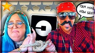 PICKED UP MY GIRLFRIEND UP IN AN UBER UNDER DISGUISE! *went terrible