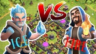 WIZARD VS ICE WIZARD!!! |CLASH OF CLANS