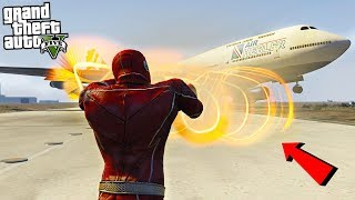 THE FLASH v2 W/ TORNADO HANDS - GTA 5 Mods