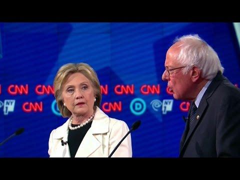 Clinton, Sanders Have Tense Exchange On Israel
