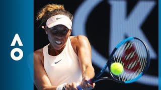 Ana Bogdan v Madison Keys match highlights (3R) | Australian Open 2018