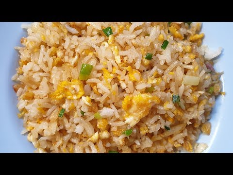 ข้าวผัดไข่ง่ายๆ เมนูไข่ งบน้อย หอม อร่อยในพริบตา Fried Rice with Egg Recipe - ใหม่ใจหนุน