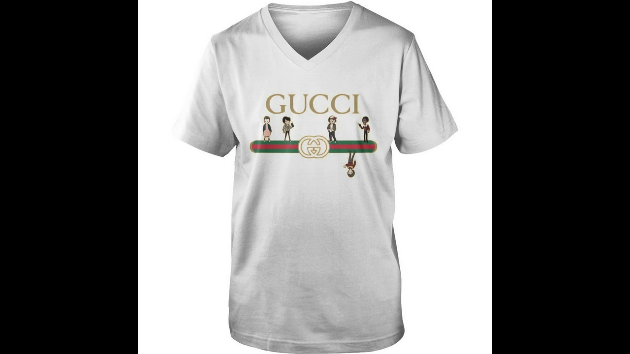 e1d456dc8a5 Official Gucci stranger things upside down shirt