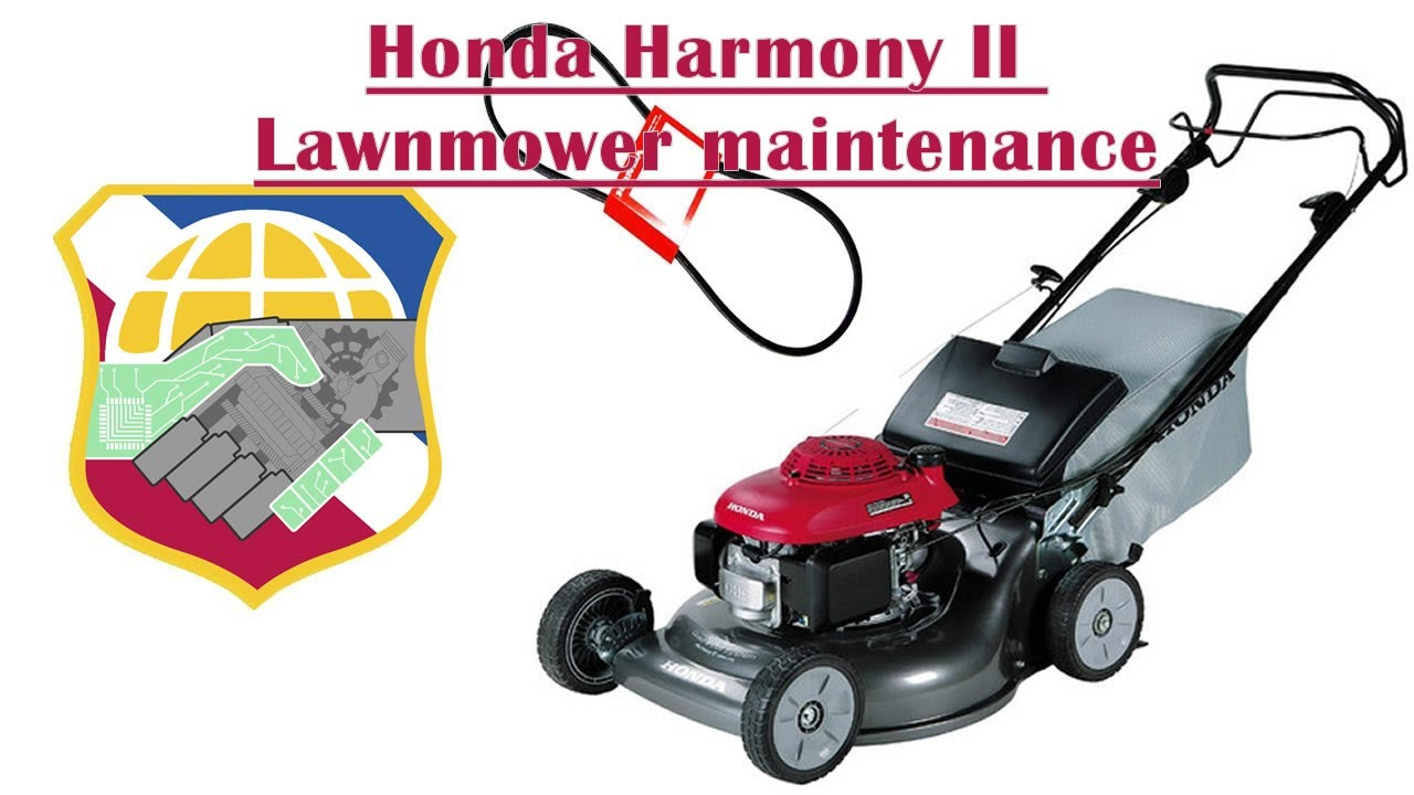 Honda Harmony Ii Lawnmower Maintenance Hrr216 Mower Replace Self Propel Drive Belt Change Oil