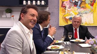 Gerard Joling blikt met Harry Mens terug op bezoek aan VI Oranje Blijft Thuis