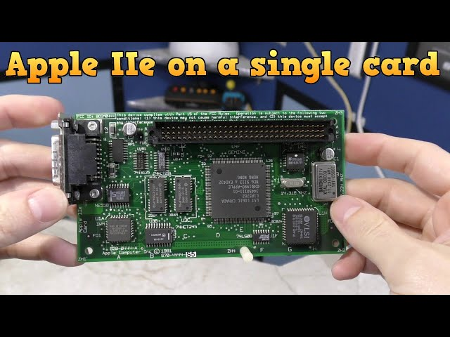 The Apple IIe on a Card