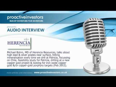 Herencia Resources hitting high lead & silver grades near surface