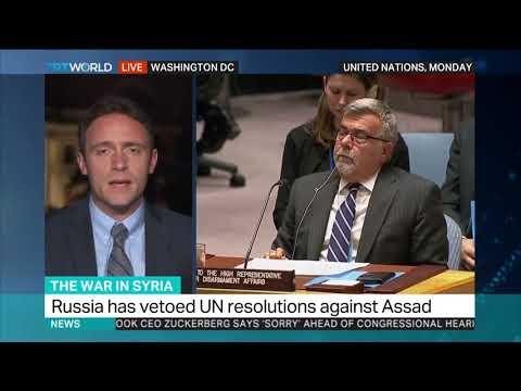 Russia, US clash at UN over Syria gas attacks probe