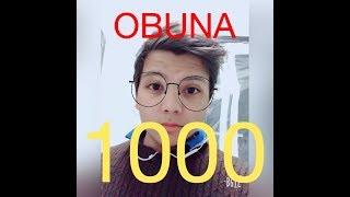 1000 ТА ОБУНА УРА😁...