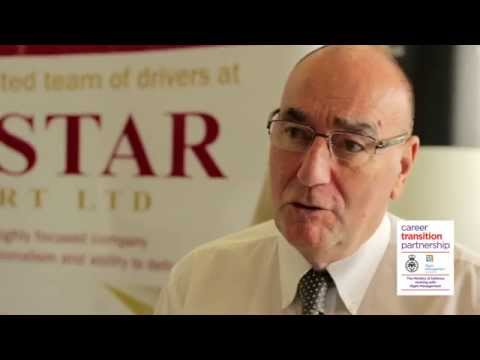 Goldstar Transport on why they recruit Armed Forces leavers