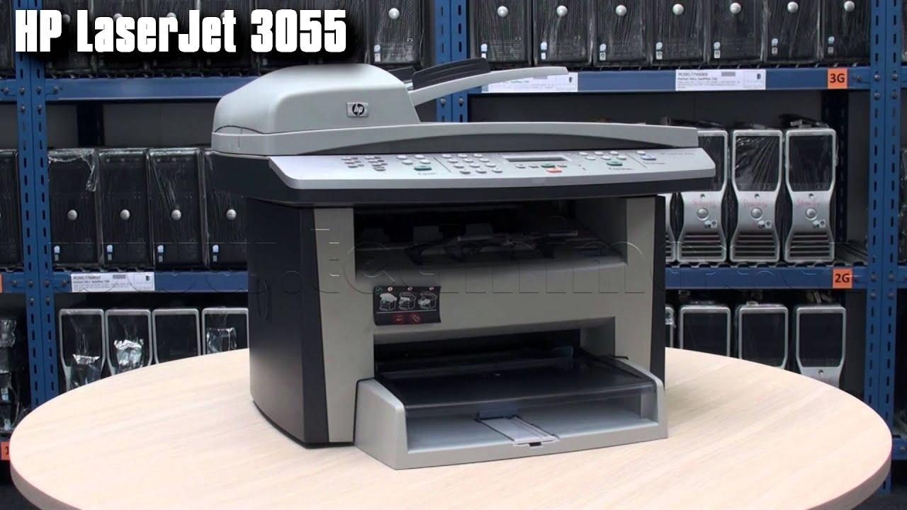 Hp Laserjet 3055 Youtube