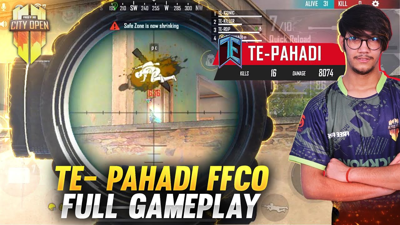 FFCO FULL GAMEPLAY || BY T-PAHADI OVERPOWER M82B || GARENA FREE FIRE