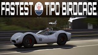 Forza 6 Topspeed Build | 423km/h [263mph] Maserati Tipo 61 Birdcage