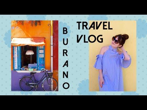 Burano, Italy Travel Vlog and Fashion Lookbook