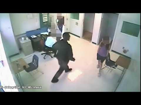 Sheriff's Deputy Arrested For Body Slamming Student Body Slam