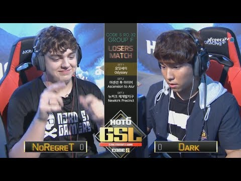 [2017 GSL Season 3]Code S Ro.32 Group F Match4 NoRegreT vs Dark