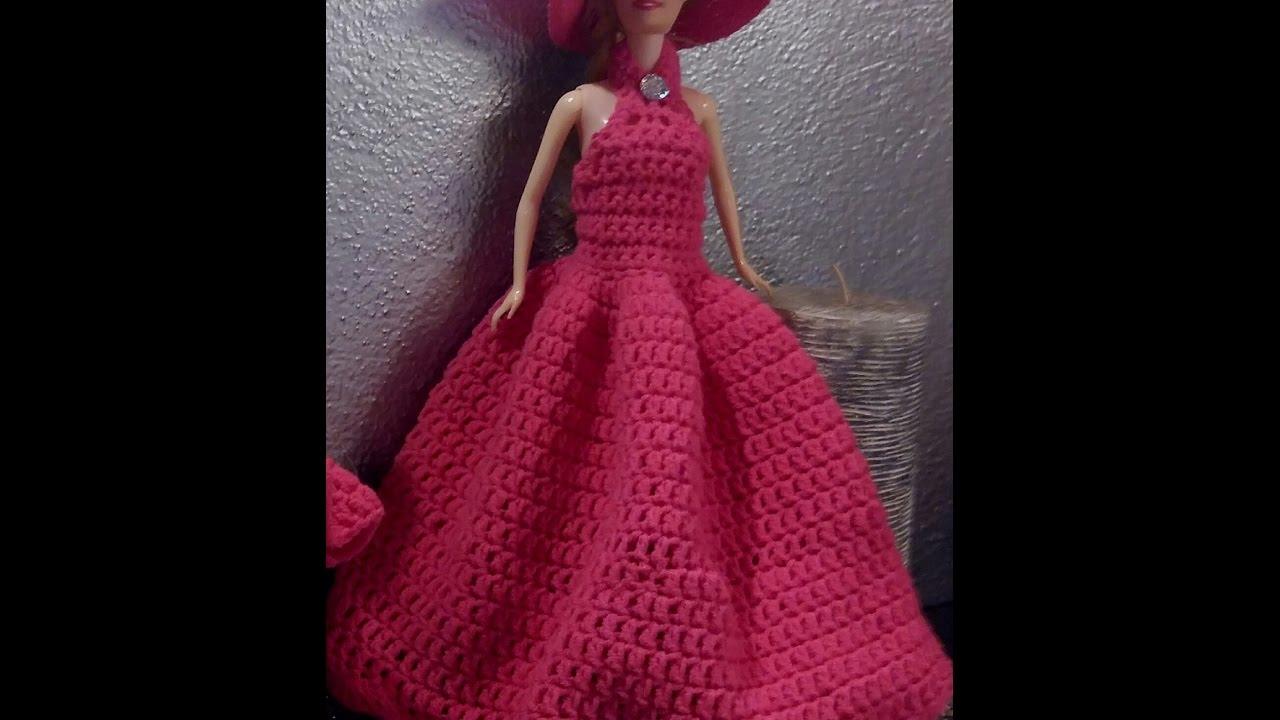 Vestito Barbie 1 Versione 3 Uncinetto Youtube