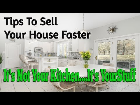 Tips To Sell Your House Faster Declutter Kitchen Video 2018 Open House