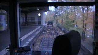 Video Mitfahrt HK-Zug Neu-Westend bis Ruhleben und zurück U-Bahn  U2 Berlin download MP3, 3GP, MP4, WEBM, AVI, FLV Oktober 2018
