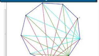 eneagono diagonales totales