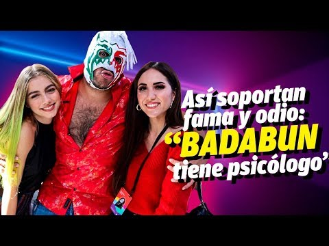 Dani Alfaro y Carolina Diaz con Escorpión en Los Ángeles, antes de la ruptura