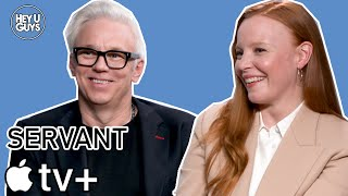 Tony Basgallop & Lauren Ambrose Interview - Servant (Apple TV+)