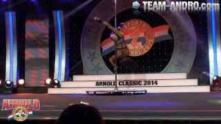 Arnold Fitness Int. 2014 - Oksana Grishina Posing Routine