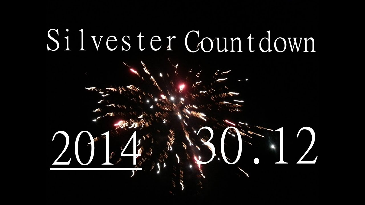 Silvester Countdown 30.12.2014 - YouTube
