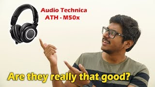 Why are they so Popular? My Review on Audio Technica M50x Studio Monitoring Headphones!
