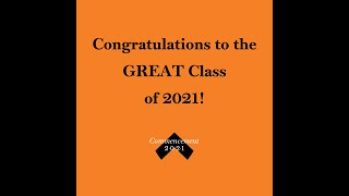 Parent and Family Messages to the Great Class of 2021