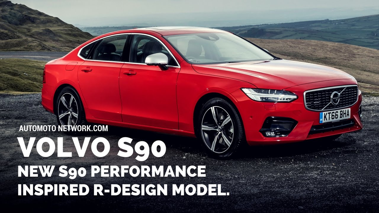 2017 Volvo S90 R Design Styling Performance