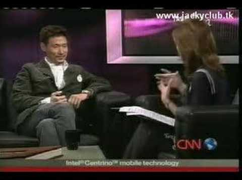 Jacky Cheung CNN TalkAsia Interview 2004-11-20 (2 of 3)