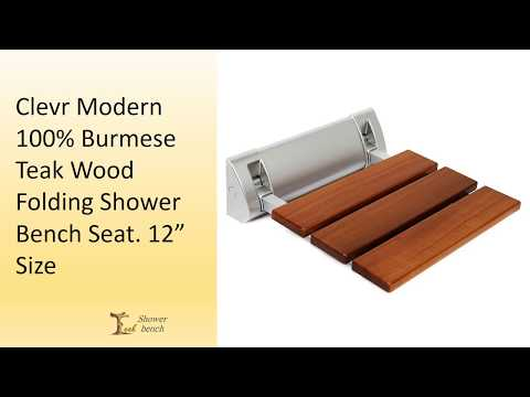 Best teak shower folding seats