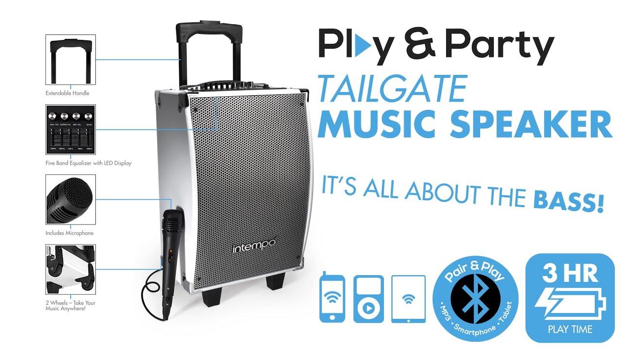 Intempo Tailgate Music Speaker