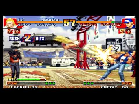 The King of Fighters 97 Andy Bogard
