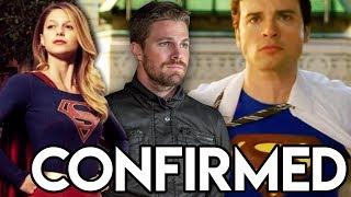 MAJOR Smallville Crossover CONFIRMED & Superman in CRISIS Crossover? - Arrow Season 8