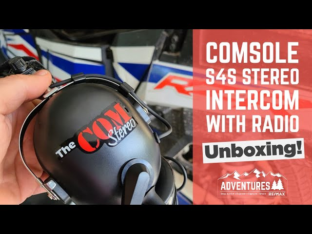 COMsole S4S Stereo Intercom with Radio - UNBOXING!