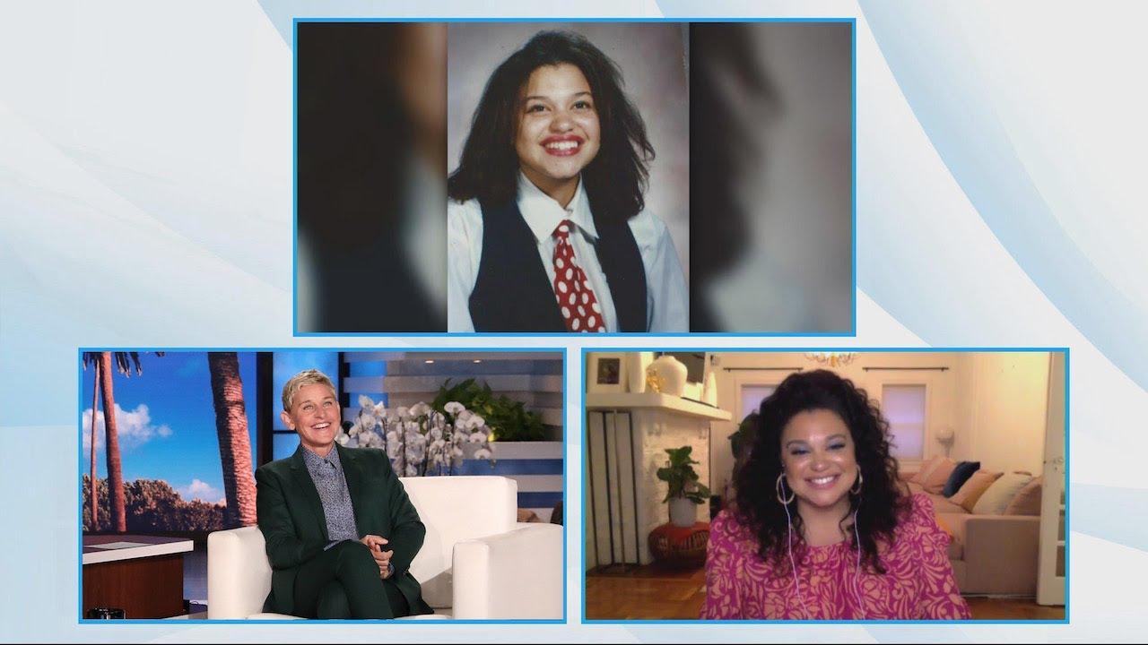 Michelle Buteau Looked Like 'Puerto Rican Ellen' in This School Photo