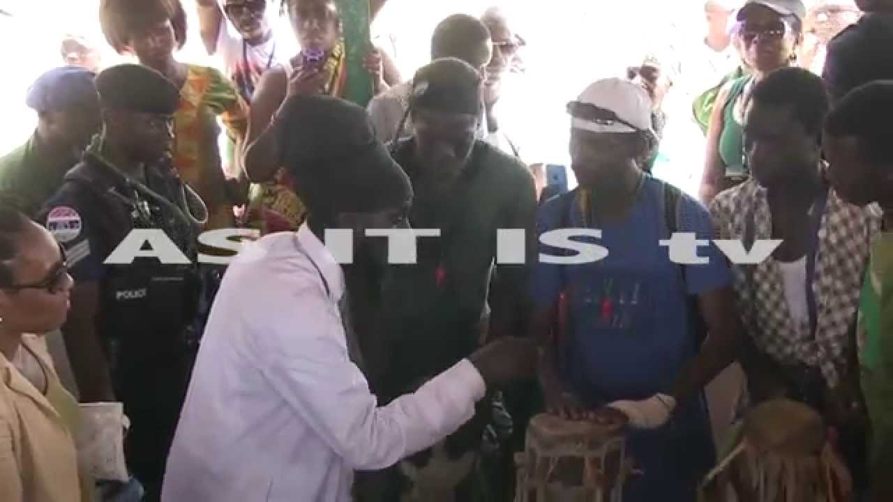 Colorful & Traditional Cultural Display in Gambia, Sizzla
